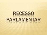 Redução Recesso Legislativo