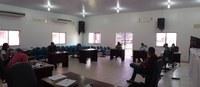 Reunião entre os Poderes Executivo e Legislativo